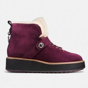 Coach Shoes - New Coach Urban Hiker Suede Boots, Size 8B